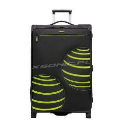 Średniej wielkości walizka na 2 kołach - motyw 3D - Stratic Ball