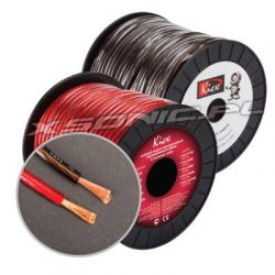 Przewód zasilający 8,2 mm² Kicx rolka 100 m czerwona izolacja