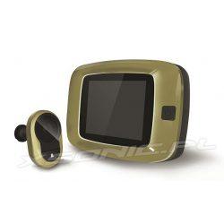 Videowizjer judasz wideo w drzwi z ekranem 3,2 cala kamera wbudowany dzwonek i diody podczerwieni