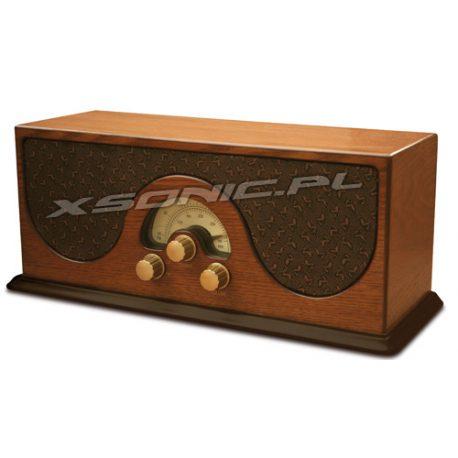 Radio z drewna LW/FM w stylu retro drewniane Camry jak starodawne