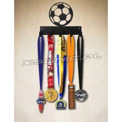 Wieszak na medale dla piłkarza piłkarski 5 haczyków