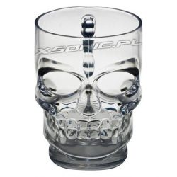 Stylowy kufel do piwa czaszka 550 ml kubek szklanka