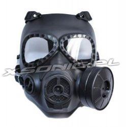 Maska Toxic Protector z wentylatorem ochronna do ASG paintball gier wojennych
