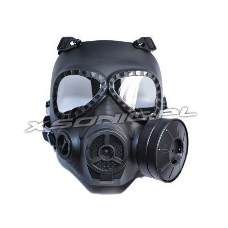 Maska Toxic Protector z wentylatorem maska ochronna do ASG, paintball i do gier wojennych