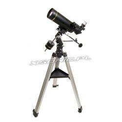 Teleskop paralaktyczny Levenhuk Skyline PRO 80 MAK ze statywem i tacką na akcesoria
