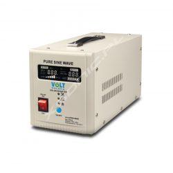 Zasilacz awaryjny UPS / przetwornica napięcia z 12V/230V o mocy 500W/800W marki VOLT - czysty SINUS, awaryjne zasilanie pieców