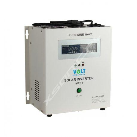 Zasilacz awaryjny UPS / przetwornica napięcia z 24V/230V o mocy 1400W/2000W marki VOLT - czysty SINUS, awaryjne zasilanie pieców