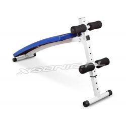 Ławeczka skośna do ćwiczeń mięśni brzucha Neo-Sport NS-05 regulowana