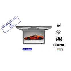 Monitor podwieszany podsufitowy marki NVOX o przekątnej 15 cali LED SUPER CIENKI złącze HDMI HD Ready