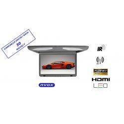 Monitor podwieszany podsufitowy marki NVOX o przekątnej 17 cali LED SUPER CIENKI złącze HDMI HD Ready
