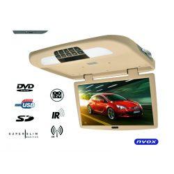 Monitor podwieszany 18,5 cali napęd DVD odtwarzacz SD USB transmiter FM IR