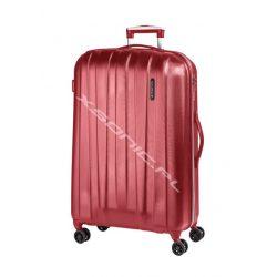 Duża walizka March z serii Rocky 4 podwójne kółka wysokość 78 cm pojemna lekka