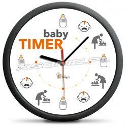 Zegar baby timer pierwsze tygodnie życia dziecka uniwersalny