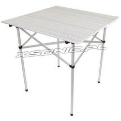 Składany stolik turystyczny 70x70x70 cm aluminiowy turystyczny