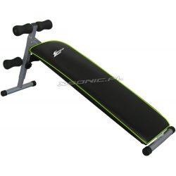Regulowana ławka skośna do ćwiczeń brzuszków