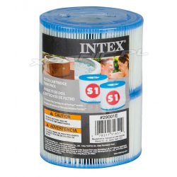 Filtr do SPA typu S1 INTEX 29001 2 sztuki do modelu 28404 / 28424 / 28422
