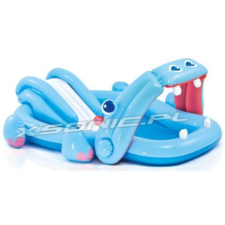 Wodny plac zabaw dla dzieci hipopotam 221 x 188 x 86cm