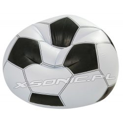 Fotel dmuchany piłka nożna 108 x 110 x 66cm INTEX 68557