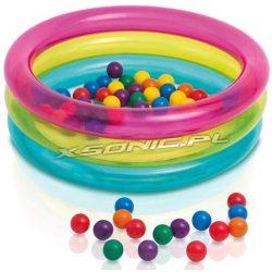 Dmuchany kojec dla dzieci 86 x 25cm 50 piłek mały basenik INTEX 48674