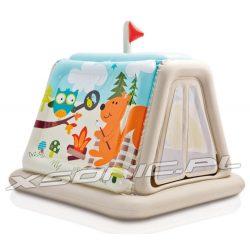 Dmuchany namiot dla dzieci kolorowe zwierzaki 127 x 112 x 116cm