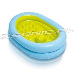 Wanienka basenik dla dzieci dmuchane dno 86 x 64 x 23cm pompka w zestawie turystyczna INTEX 48421