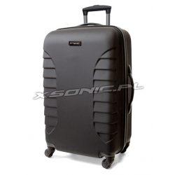 Trwała walizka podróżna poliwęglan na 4 kółkach March Easy Rider wysokość 67 cm
