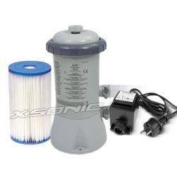 Pompa filtrująca z filtrem INTEX 3407 litrów/godz do basenów ogrodowych 12/220V 28638GS
