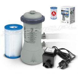 Pompa filtrująca z filtrem INTEX 2271 litrów/godz do basenów ogrodowych 12/220V 28604GS