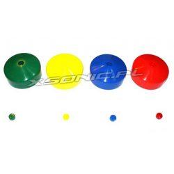 Zaślepka okrągła na koniec belki okrągłej o średnicy 10 cm na plac zabaw 4 kolory