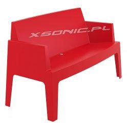 Stylowa sofa Eventowa ogrodowa BOX z polipropylenu 3 kolory