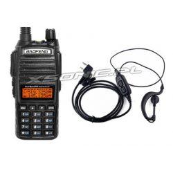 Baofeng UV-82 PTT Duobander radiotelefon PMR podwójne pasmo dual watch radio FM latarka