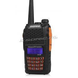 Funkcjonalny radiotelefon Baofeng wodoszczelny radio FM różne podświetlenia