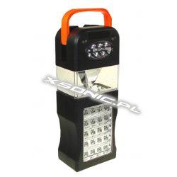 Lampa warsztatowa 3 źródła światła 33 diody LED z rączką Xwing