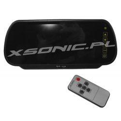 Cyfrowy monitor w lusterku wstecznym samochodu do kamer cofania o przekatnej 7 cali