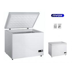 Lodówka samochodowa NVOX o pojemności 160 litrów funkcja zamrażalnika kompresorowy system chłodzenia