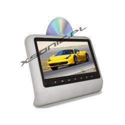 Przenośny odtwarzacz 10 cali samochodowy na zagłówek SD/USB napęd DVD nadajnik IR FM