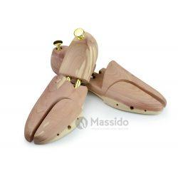 Prawidła do butów drewniane drzewo cedrowe rozmiar 44-45 Massido regulacja w czterech płaszczyznach