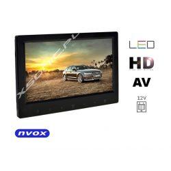 Monitor wolnostojący NVOX z ekranem LED o przekątnej 7 cali dotykowe przyciski bardzo cienka obudowa