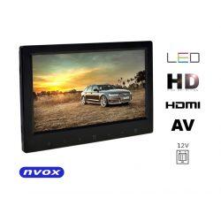 Monitor wolnostojący NVOX z ekranem LED 7 cali dotykowe przyciski bardzo cienka obudowa HDMI
