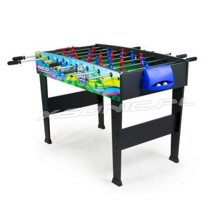 Duży stół do gry w piłkarzyki 107,5 x 78,5 x 79 cm kolorowy z grafiką na nogach