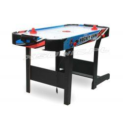 Składany stół do gry w hokeja z nadmuchem Air Hockey Cymbergaj duży Air Flow 120 x 60 x 72 cm