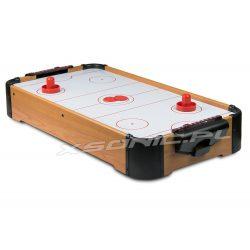 Cymbergaj stół do gry w hokeja krążki z nadmuchem Air Hockey na baterie