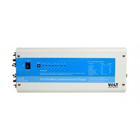 Zasilacz awaryjny z wbudowanym prostownikiem VOLT POLSKA POWER SINUS 1000 12V czysty sinus