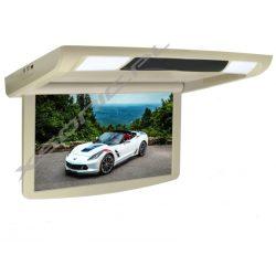 Monitor podsufitowy LED do autobusu 15 cali FULL HD automatyczne otwiera i zamyka ekran transmiter FM IR