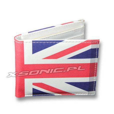 Elegancki portfel UK flaga brytyjska
