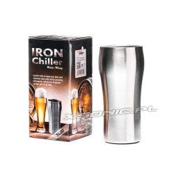 Metalowy kufel do piwa termiczny Iron Chiller wersja SLIM szklanka
