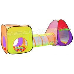 Namiot dla dzieci iglo tunel samo rozkładający sie domek piłeczki 200 sztuk