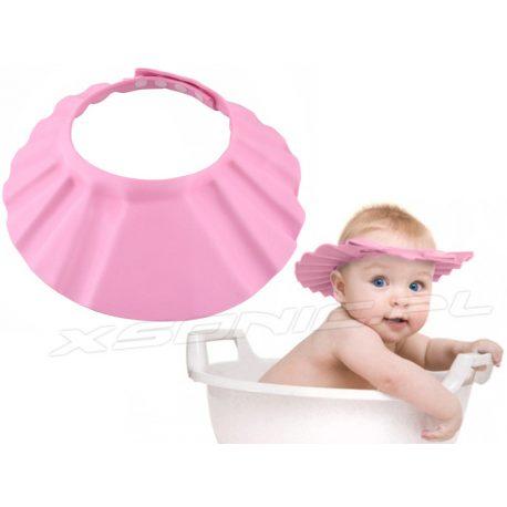 Rondo kąpielowe dla dzieci kapelusz daszek osłona przed wodą do mycia główki