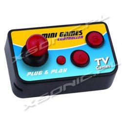Przenośna mini konsola TV 108 gier w pamięci do telewizora lub monitora