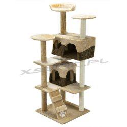 Domek legowisko drapak dla kota 130 cm Pethous platformy domki schody do wspinaczki